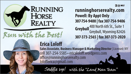 Erica Loloff Running Horse Realty Agent