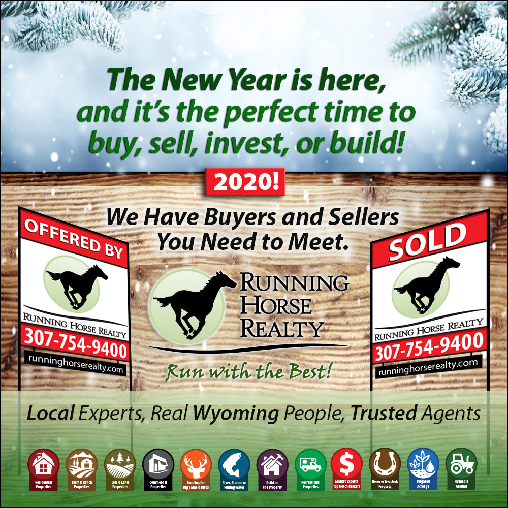 Perfect time to buy sell wyoming property
