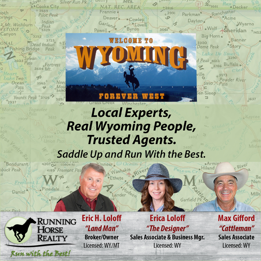 Trusted Agents in Wyoming Running Horse Realty